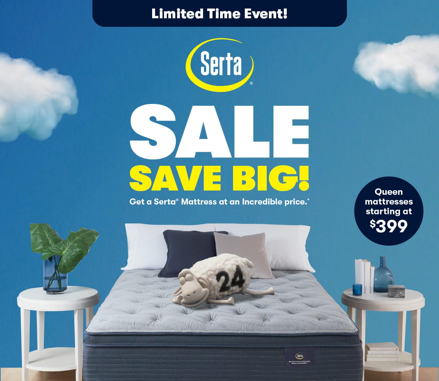 Serta Save Big Sale!